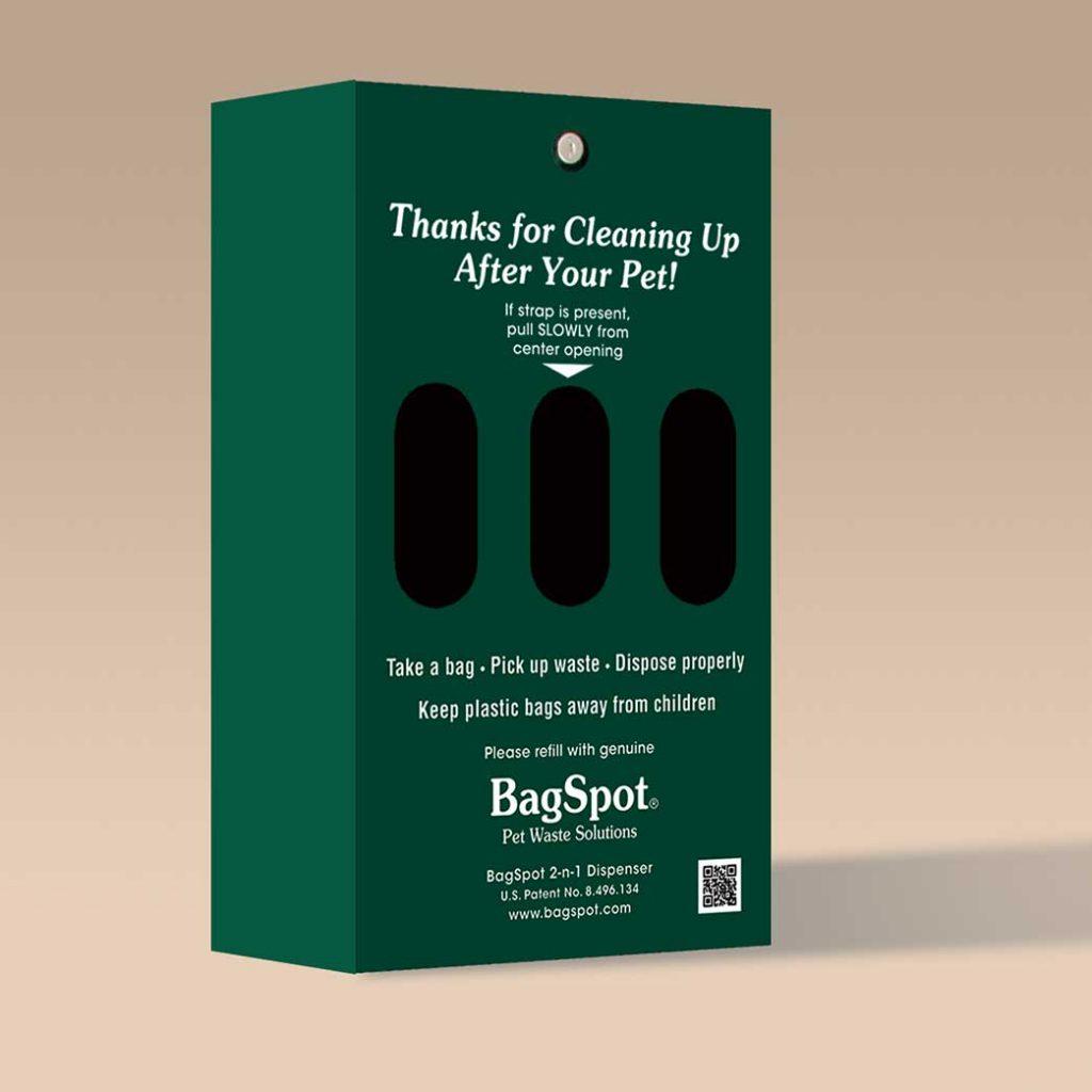 BagSpot 2-n-1-dispenser